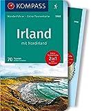 KOMPASS Wanderführer Irland mit Nordirland: Wanderführer mit Extra-Tourenkarte 1:50000, 70 Touren, GPX-Daten zum Download.