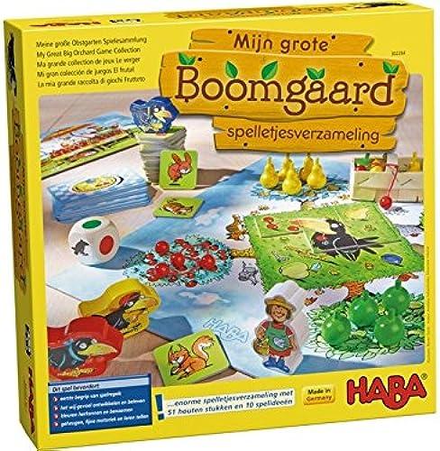 Haba - Spel - Mijn Größe boomgaard - spelletjesverzameling