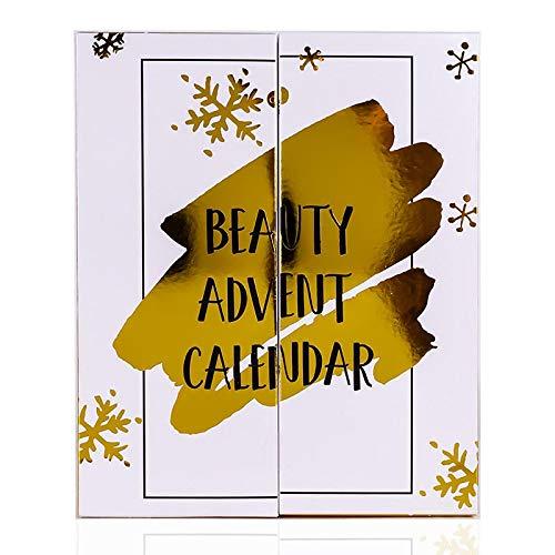 Maquillage du calendrier de l'avent en or Edition Limitee