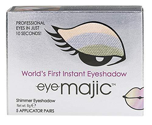 Eye Majic - Instant-Lidschatten - leichtes, professionelles Make-up in 10 Sekunden - 5 Paar - Optimistic - 014