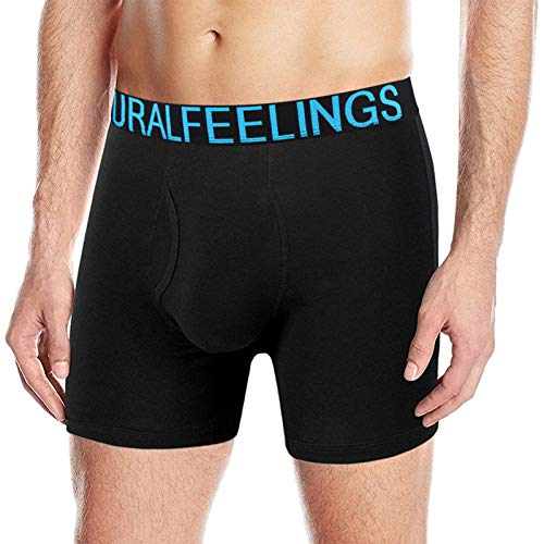 Natural Feelings Boxers Homme Calecon Homme Coton Mouche Ouverte sous Vêtements Homme Lot de...