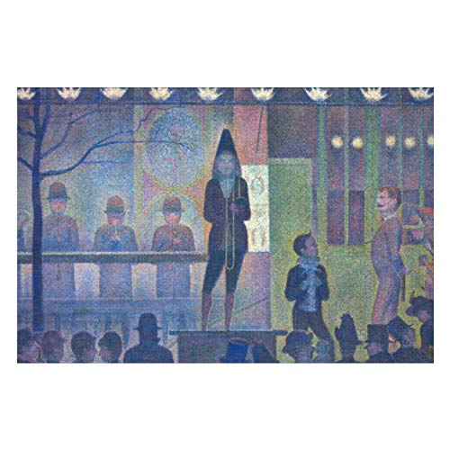 Georges Seurat Parade De Cirque Puzzles for Adults, 300 Piece Kids Jigsaw Puzzles Game Toys Gift for Children Boys and Girls, 10' x 15'
