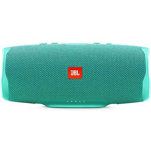 JBL Charge 4 Waterproof Portable Bluetooth Speaker- Teal, 5.10 x 9.12 x 4.4 (Renewed)