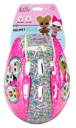 CredHedz L.O.L Surprise! Bicycle Inline Skateboard Helmet for Kids Actgear-242LOL | Easy Fold-N-Carry Design, Ultra-Lightweight, Comfortable & Safe, Durable & Easy to Ride, One Size Kids
