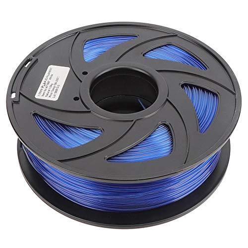 Impresora 3D azul Filamento PLA Material de impresión Consumibles 1.75 mm 1 kg