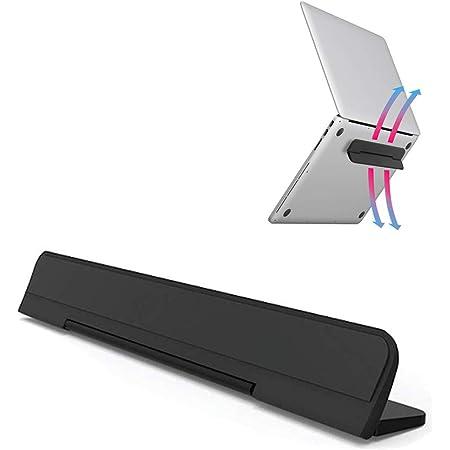 ノートパソコン スタンド フリップPCスタンド 軽量 コンパクト 折りたたみ式 冷却スタンド パソコン台 傾斜 角度 放熱 冷却 軽量 MacBook Pro/Air/iPad タブレット対応 12-15インチ ブラック