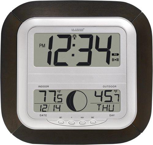 La Crosse Technology WS-8418U-IT Atomic Digital Wall Clock
