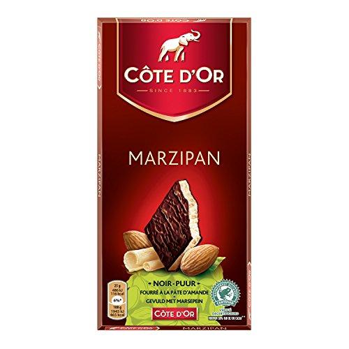 Côte d'Or – GEVULDE TABLET MARZIPAN 150 g – Belgische Heerlijke Chocolade Repen / Tabletten – Perfect Tussendoortje…