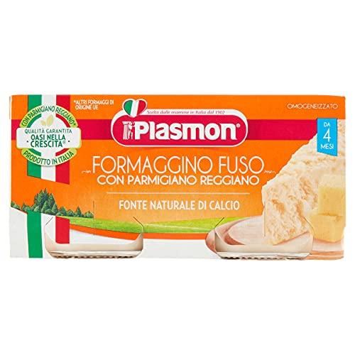 Plasmon Omogeneizzato di Formaggio, Parmigiano - 24 Vasetti da 80 gr