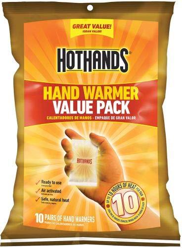 Pacote econômico Hothands, 10 pares