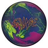Columbia 300 Savage Bowling Ball, Size 15.0, Blue/Magenta/Yellow