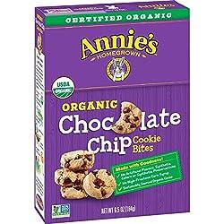 Annie's Chocolate Chip Cookie Bites, Certified Organic, 6.5 oz