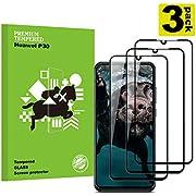 Huawei P30 Film Protection Ecran Verre Trempé, [3 Pièces] [Dureté 9H] [sans Bulles] [Ultra Claire] [Anti Rayures] Film Protecteur en Verre trempé de Haute qualité pour Huawei P30