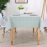 CYYyang Cubierta de Mesa de Simples Adecuado para la decoración de cocinas caseras, Varios tamaños Cuadros nórdicos en Blanco y Negro