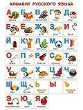 Russisches Alphabet, Poster-Druck, 45,7 x 61 cm