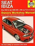 Seat Ibiza Petrol and Diesel: 02 to 08 (Haynes Service and Repair Manuals)
