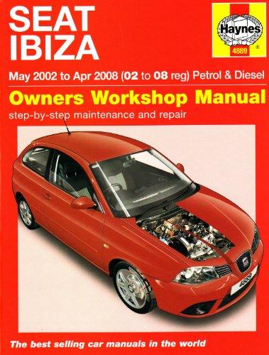 Seat Ibiza Petrol and Diesel: 02 to 08 (Haynes Service and Repair...