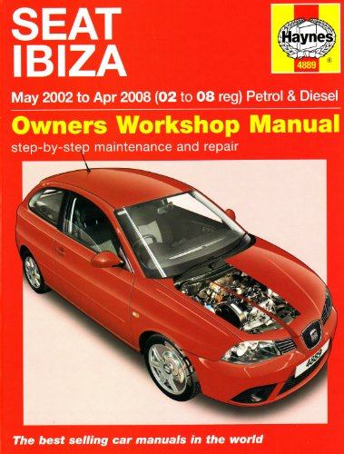 Seat Ibiza Petrol and Diesel: 02 to 08 (Haynes Service and Repair Manuals)