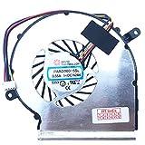 Cooler - Ventilador para MSI GL62 6QDi581, GL62M 7RD-256, GL62MVR 7RFX-1203, GL62 6QFi58S2FD, GL62M 7RD-265, GL62 6QFi781FD, GL62M 781FD RDX-109 6.
