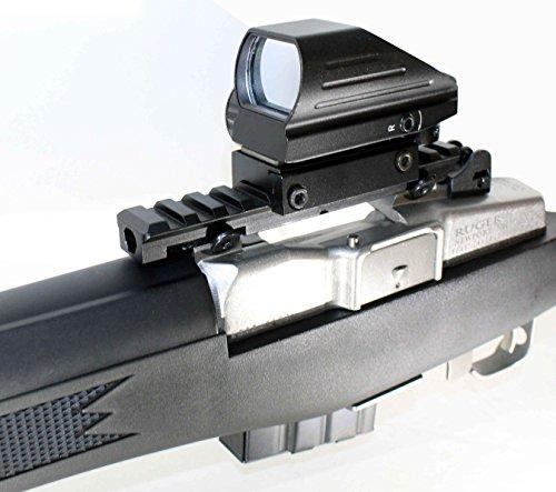 Ruger Mini 14 Mini 30 Reflex Sight Black with Single Rail Mount, Mini 14 Parts, Single Rail Mount.