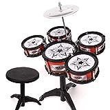 WYJW Batería de 5 Piezas para niños Juguete de percusión Primera Infancia Iluminación Musical