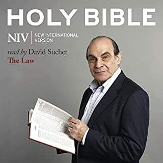 David Suchet Audio Bible - New International Version, NIV: (01) The Law audiobook cover art