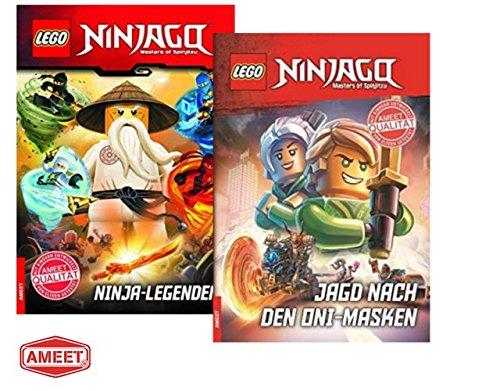 LEGO® Ninjago™ Ninja-Legenden + Jagd nach den Oni-Masken: fesselnde Lesebuch für Erstleser