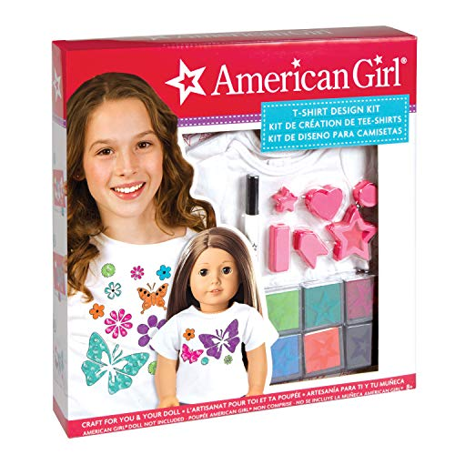 American Girl Stamping T-Shirt Design...