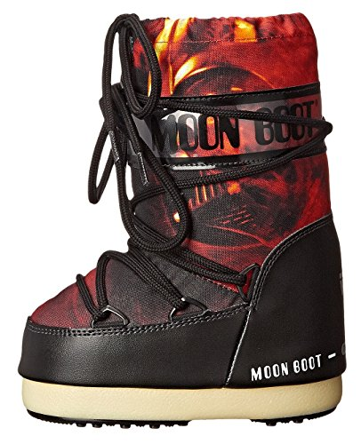 Moon Boot by Tecnica Star Wars Fire Junior Snow Boot Little Kids Black/Red