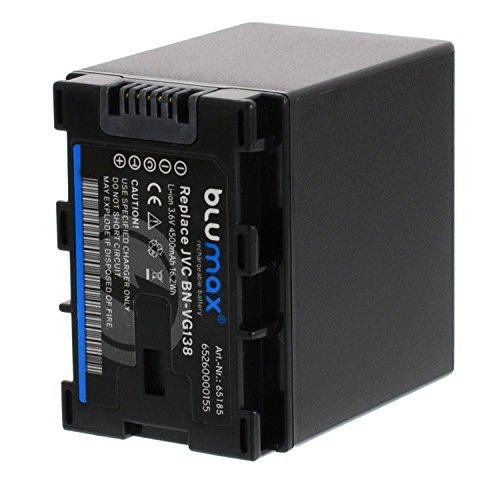 Blumax® BN-VG138VG1384500mAh 3,6V energía de la batería de repuesto para JVC GZ-HD GZ-HM Everio GZ-MG GZ-MS GZ-E EX y GZ-GX Serie