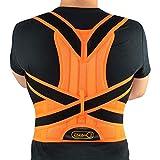 男性と女性、背中、肩、腰の痛みをサポートします。 姿勢を改善し、上下の背中を支える