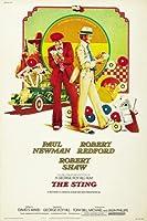 THE STING –ポール・ニューマン–米国輸入映画ウォールポスター印刷-30CM X 43CM Robert Redford