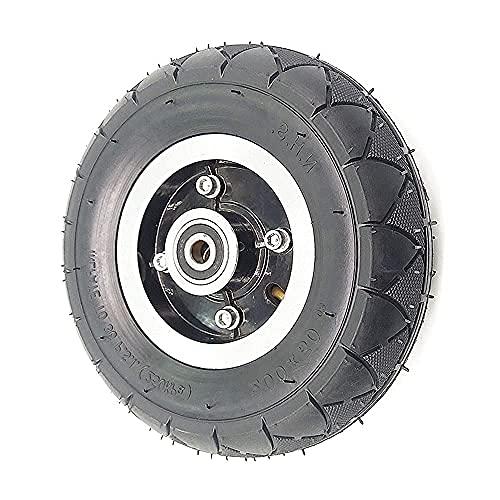 DIELUNY Neumáticos eléctricos de la vespa, 200x50 Neumáticos resistentes al desgaste antideslizantes para reemplazo de la vespa de 8 pulgadas, Especificaciones opcional, 2 tubo interno