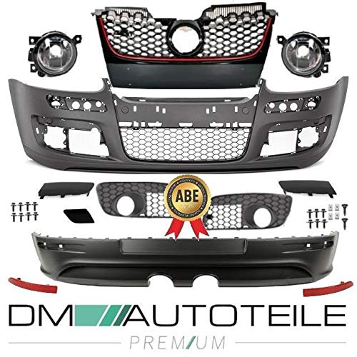 DM Autoteile Golf 5 V Stoßstange Komplett +Heck Diffusor R32 GTI Bodykit+ * ABE TÜV FREI *