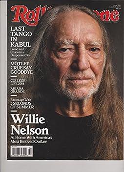 Rolling Stone Magazine 28 August 2014 [Willie Nelson]