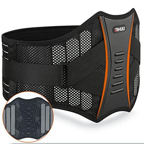 Rückenstütze Sports Rückenbandage Lendenwirbelbandage Damen und Herren Nierengurt für effektive Stabilisierung des Rückens Unterstützend wärmender Lendenwirbelstütze Gürtel 70cm-130cm