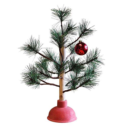 Redneck Nation Plunger Christmas Tree