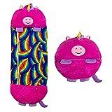 PZV Happy Nappers Almohada y de Dos en uno Dibujos Animados de Dibujos Animados Bolso Durable Plegable de la Temporada para niños y un súper Suave, cálido y cómodo y cómodo Saco de Dormir