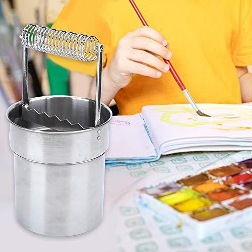 Cepillo limpiador de cepillo de doble capa de acero inoxidable cepillo de acero inoxidable cepillo de pintura para el arte para la escritura