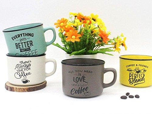 Lote 24 TazasTime For Coffee - Detalles y Recuerdos para Bodas Originales (Envío Gratis)