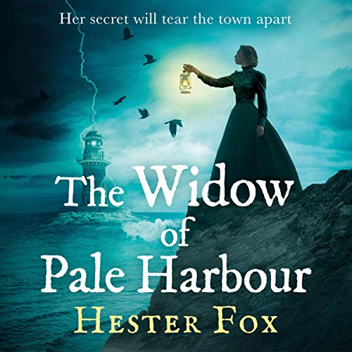 The Widow of Pale Harbour audiobook cover art