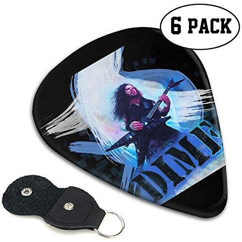 Dimebag Darrell Guitar Picks Pack de 6 púas de guitarra para guitarra...