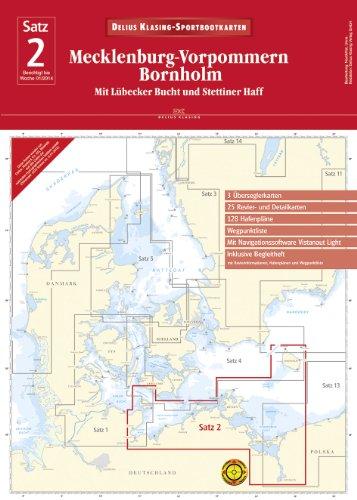 Satz 2: Mecklenburg-Vorpommern • Bornholm (Ausgabe 2014): Mit Lübecker Bucht und Stettiner Haff
