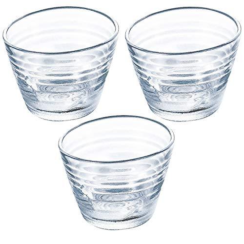 東洋佐々木ガラス つゆ鉢 約φ12.7×6.4cm みなも 日本製 食洗機対応 P-37303-JAN 3個入り
