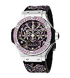 Hublot Big Bang Broderie Limited Edition Sugar Skull Steel Unisex Watch 343.SS.6599.NR.1233