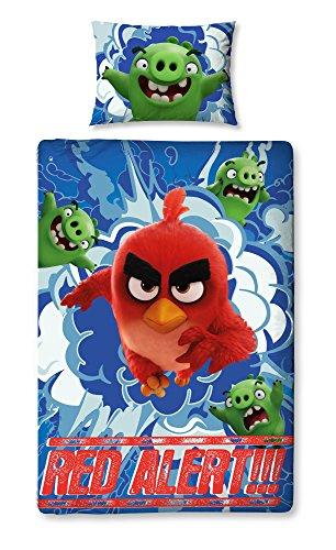 Angry Birds Parure de lit Simple Motif imprimé – Large
