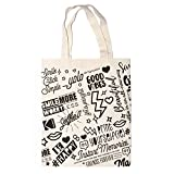 """Kodak Canvas Camera Tote Bag 100% Cotton, Cute and Stylish Reusable Beach Bag for Shopping, Gym, Yoga, School and Photography Gear (15""""x15"""")"""