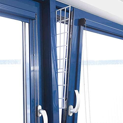 TRIXIE Rejilla ventana inclinada, Lateral, 62 × 16/7 cm, Blanco, Gato
