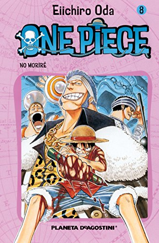 One Piece nº 08: No moriré (Manga Shonen)