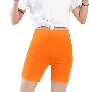 MogogoWomen Plus-Size Midi Shorts Modal Bodycon Stretch Pants Leggings